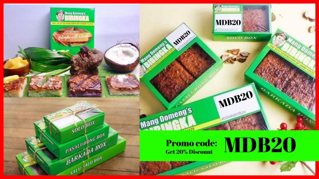 MDB20 Promo code mangdomengs bibingka